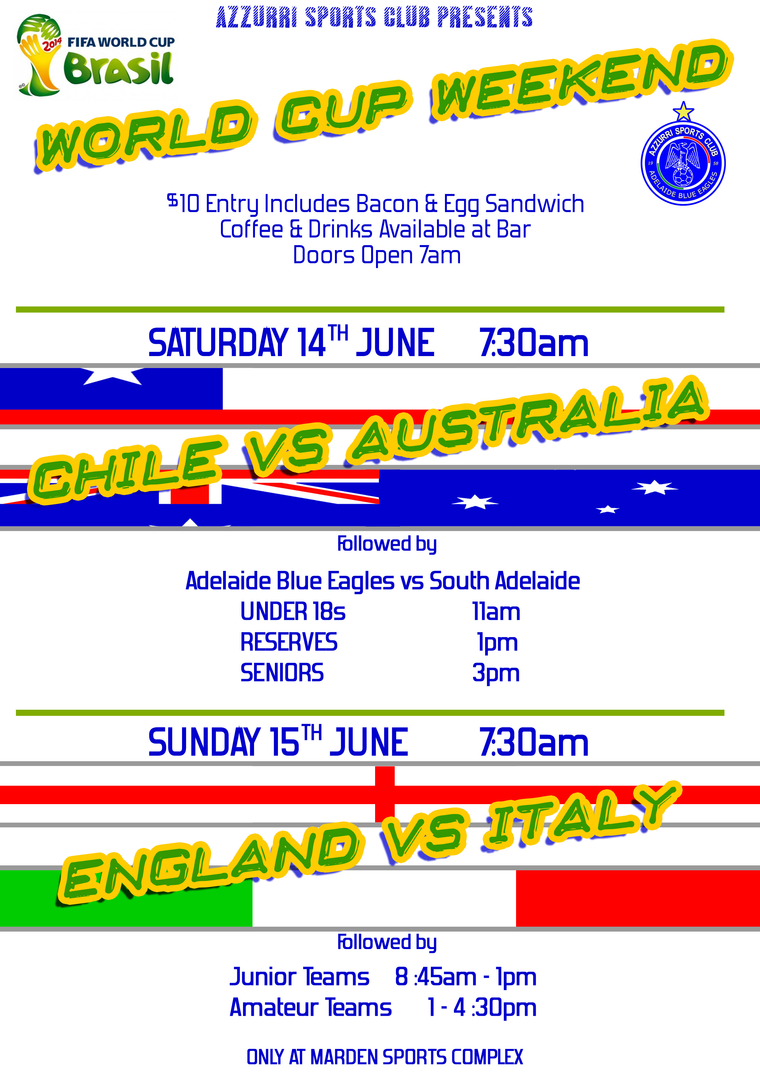 2014 World Cup Weekend
