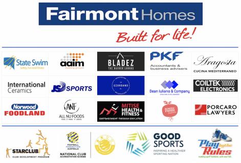 Azzurri Major Sponsors 2020